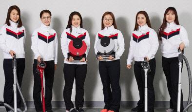 여자컬링 대표팀, 세계선수권대회위해 캐나다로 출국